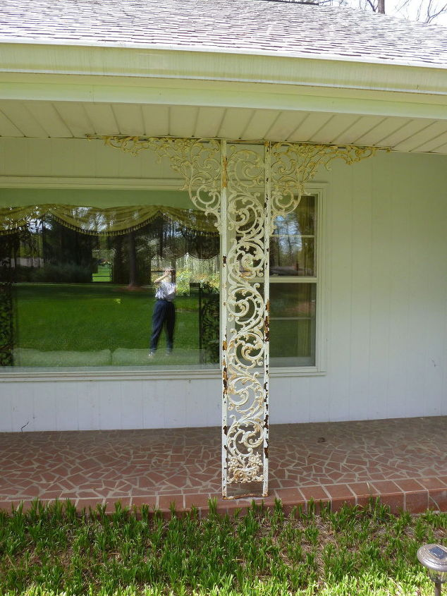 q how can i get rid of the rust and prepare wrought iron columns, cleaning tips, fences, outdoors cleaning