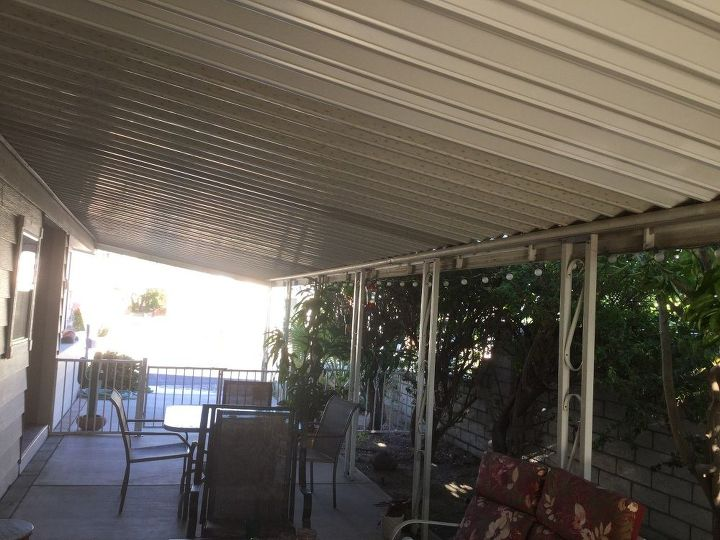 q help awning needs panels to let light in how, cosmetic changes, home improvement