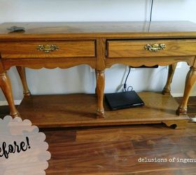 sofa table update hometalk rh hometalk com painted sofa table ideas painted sofa table pinterest