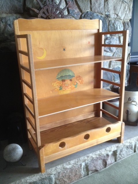 old crib to bookshelf, painted furniture, repurposing upcycling, shelving ideas, storage ideas