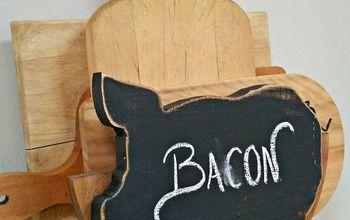 repurposed vintage plate holder, chalkboard paint, crafts, diy, kitchen design, repurposing upcycling