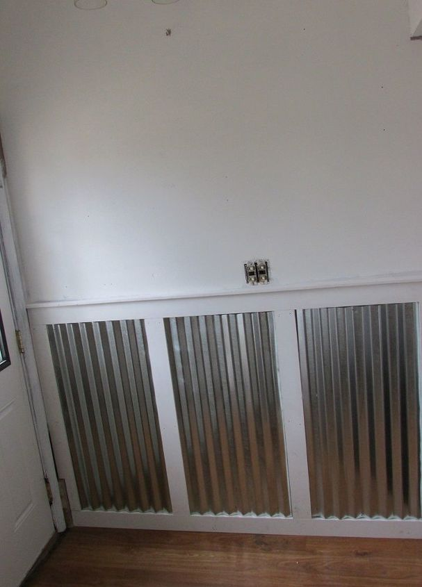 Adding Industrial Modern Wainscoting For A High Traffic Entryway Diy Home Maintenance Repairs