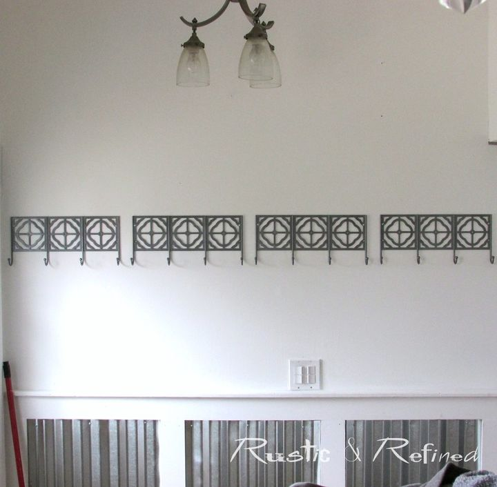 adding industrial modern wainscoting for a high traffic entryway, diy, home maintenance repairs, painting, wall decor