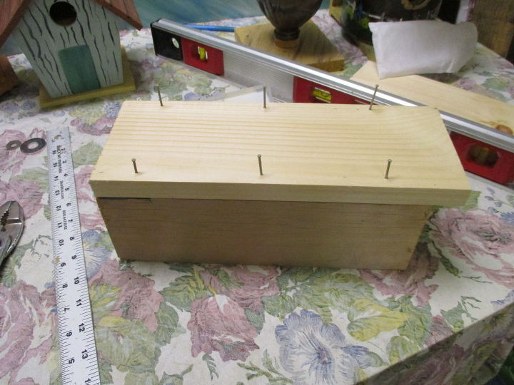 bird house plant stand lawn or garden ornament, animals, diy, how to, pets animals, woodworking projects