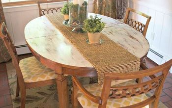 13 Gorgeous Ways to Bring Your Worn Kitchen Table Back to Life
