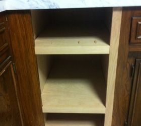 A Pinterest Inspired Alternative To A Dated Trash Compactor, Diy, Kitchen  Cabinets, Kitchen