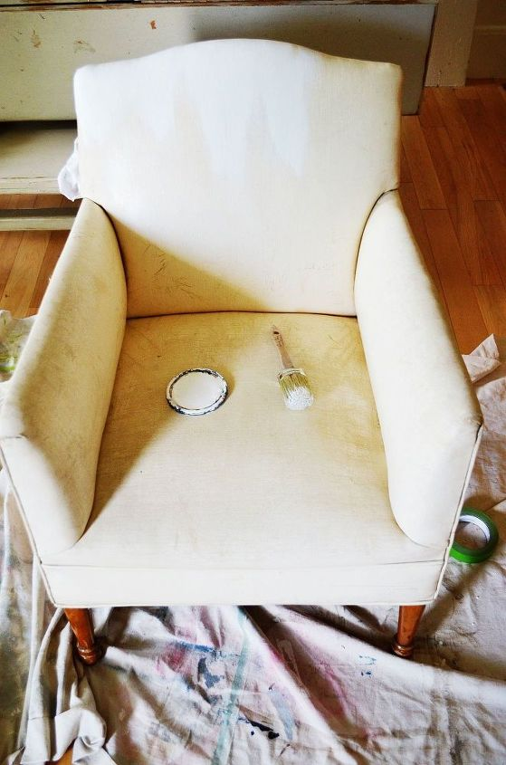 You Can Paint A Vinyl Upholstered Chair With As Chalk