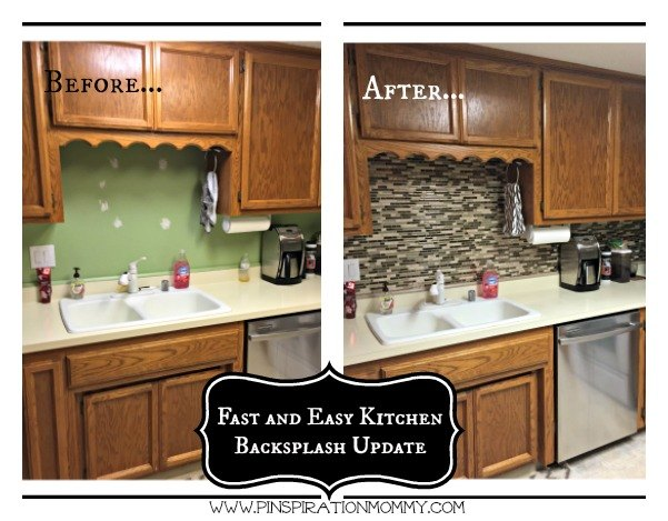 Adhesive Backsplash For Kitchen - Home Ideas