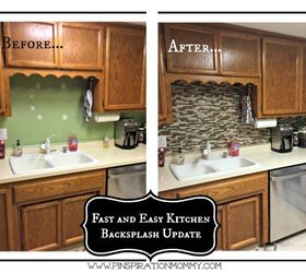 Exceptional Using Vinyl Smart Tiles To Update My Kitchen, Diy, Kitchen Backsplash,  Kitchen Design