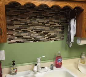 Using Vinyl Smart Tiles To Update My Kitchen, Diy, Kitchen Backsplash,  Kitchen Design