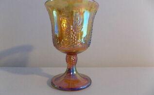 q glass gobletts, home decor, home decor id