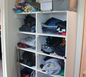 turn a messy walk in into an organized closet and dressing room bedroom ideas