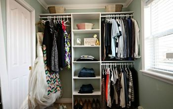 Turn a Messy Walk-in Into an Organized Closet and Dressing  Room!