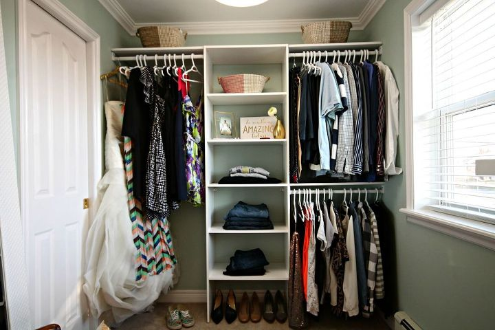 Turn a Messy Walk-in Into an Organized Closet and Dressing Room ...