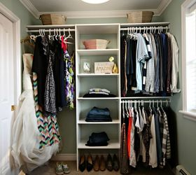 Turn A Messy Walk In Into An Organized Closet And Dressing Room, Bedroom  Ideas,