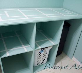 DIY Folding Table and Basket Storage for the Laundry Room Hometalk