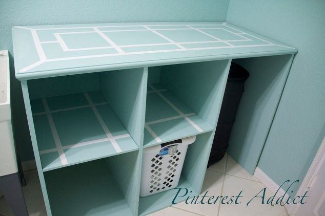 Diy Folding Table And Basket Storage Laundry Room Cleaning Tips Rooms