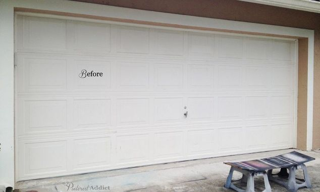 carriage garage doorFaux Carriage Garage Door  Curb Appeal for Just a Few Bucks