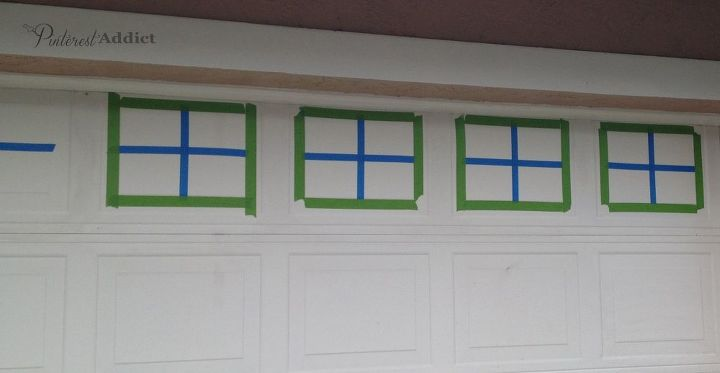 create a faux carriage garage door and pump up your curb appeal, curb appeal, doors, garage doors, garages