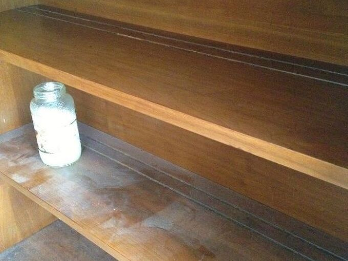 use oil and vinegar to clean wood furniture, cleaning tips, painted furniture