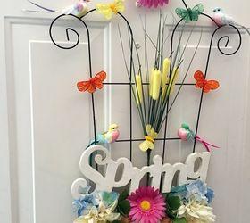 ... Spring Garden Door Decor Hometalk & Spring Doors - Door Ideas ~ themiracle.biz