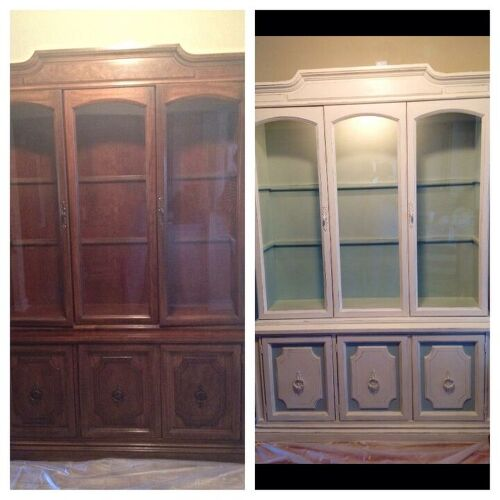 30 year old traditional rice carved bedroom set - needs an update ...