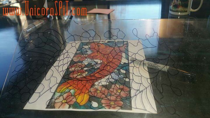 spit stained glass, crafts, decoupage, how to, repurposing upcycling