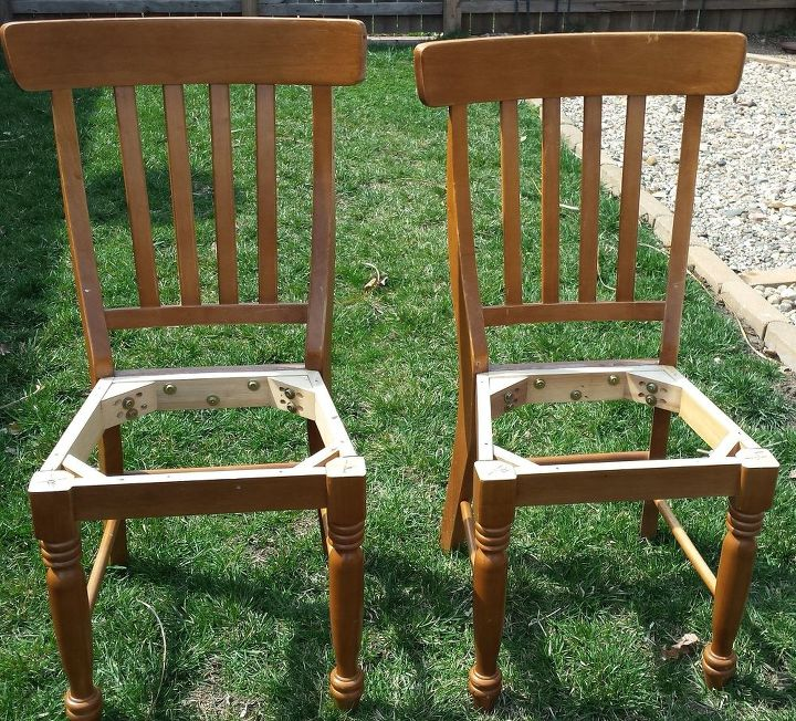 Patio Bench Made From Chairs   Hometalk