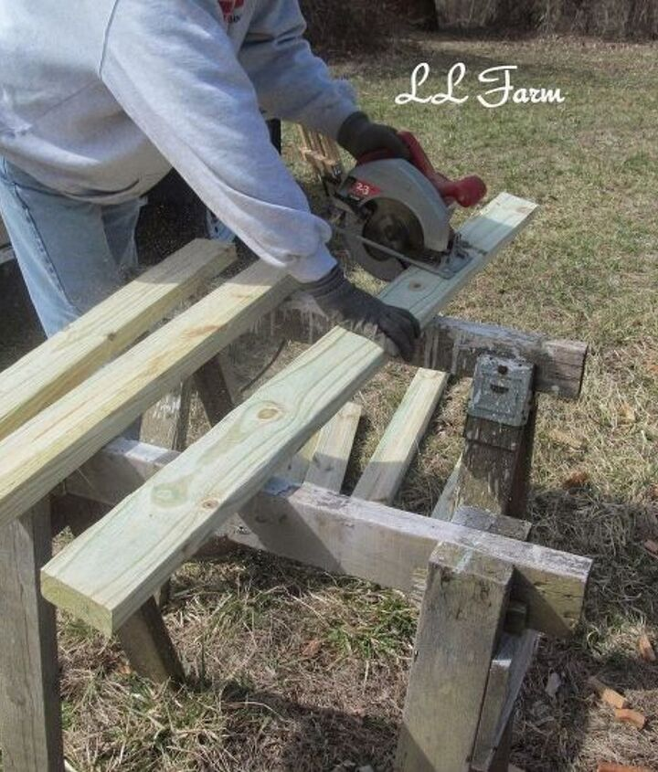 diy garden fence using picket fence panels, diy, fences, gardening, woodworking projects