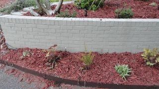How To Spruce Up Ouru Gly Retaining Wall Hometalk