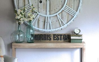 turn anything into barnwood, chalk paint, diy, how to, painted furniture, rustic furniture