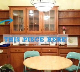 Re Purposing A Dining Room Built In Hutchu2026Into Playroom Toy Shelves |  Hometalk