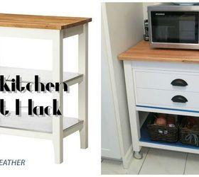 Ikea Stenstorp Kitchen Cart Hack, Diy, How To, Kitchen Design, Kitchen  Island ...