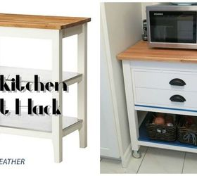 Ikea Stenstorp Kitchen Cart Hack, Diy, How To, Kitchen Design, Kitchen  Island