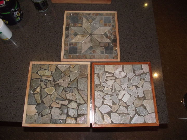 mosaic tile trivets or pot stands, crafts, how to, repurposing upcycling, tiling