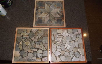 Mosaic Tile Trivets or Pot Stands