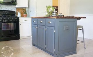 painted kitchen islandsWood Kitchen Islands in Painted Furniture  Hometalk
