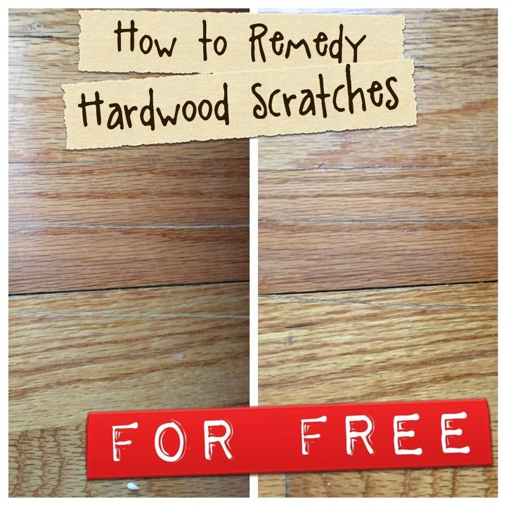 fix your hardwood scratches this minute, cleaning tips, flooring, hardwood floors, how to