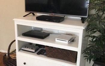 Dresser Turned TV Stand - Trash to Treasure!