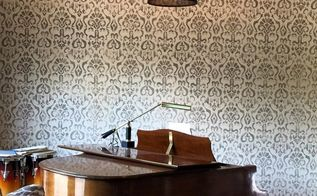 do you know how to stencil a wall, diy, how to, painting, wall decor