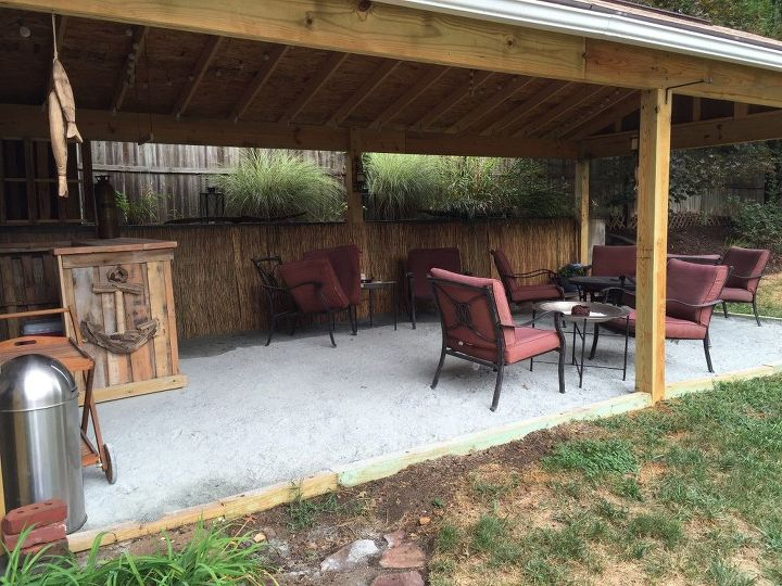 Backyard Tiki Bar Hometalk - Backyard tiki bar ideas