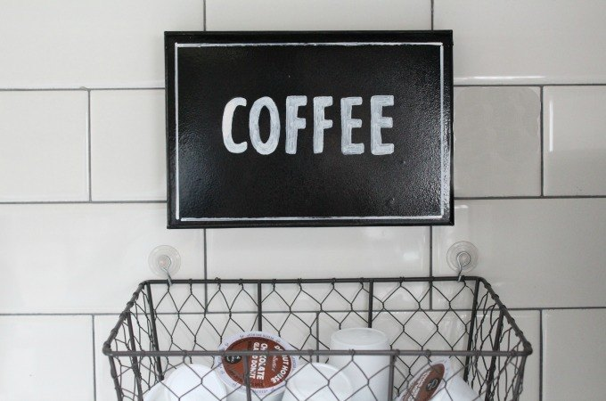 diy coffee art
