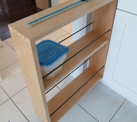 Hidden Kitchen Storage: Turn a Filler Panel Into a Pull-Out ...