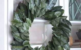 how to make a magnolia wreath fixer upper style, crafts, how to, wreaths