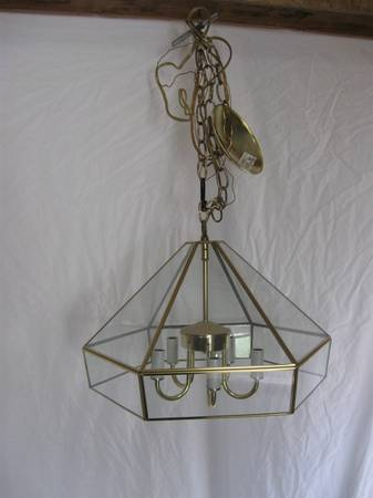 What to make out of a glass hanging light   Hometalk