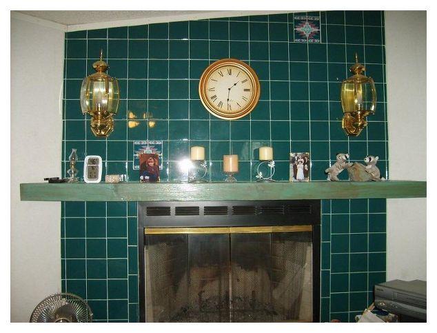 Ugly Tile Fireplace Surround | Hometalk