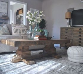 Build An Easy Pedestal Coffee Table, Diy, How To, Rustic Furniture,  Woodworking