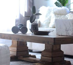 Ordinaire Build An Easy Pedestal Coffee Table, Diy, How To, Rustic Furniture,  Woodworking