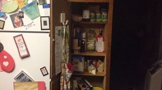 , How could I re do the pantry shelves To give more room