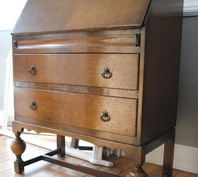 Vintage Writing Bureau Transformation Hometalk